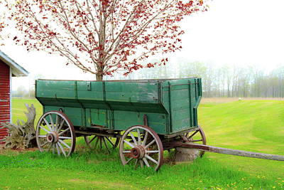 Photograph - Wagon by Chuck De La Rosa