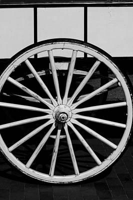 Photograph - Wagon by David Weeks
