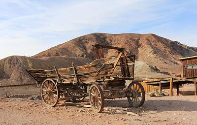 Photograph - Wagon Days  by Christy Pooschke