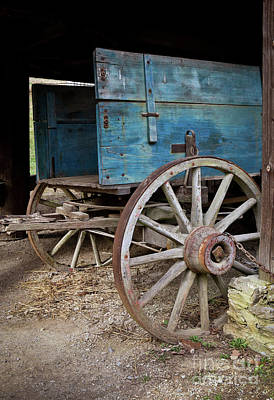 Photograph - Wagon Detail by Douglas Stucky