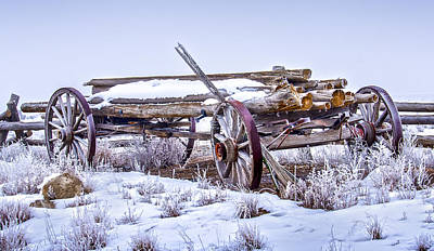 Photograph - Wagon Down In Time by John Brink