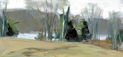 Painting - Wagon Hill Farm by Mary Byrom