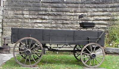 Photograph - Wagon by John Parry