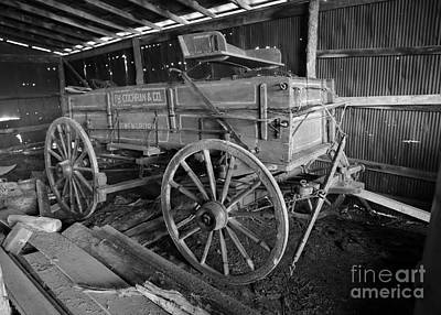 Owensboro Photograph - Wagon Made In Owensboro Kentucky by Dwight Cook