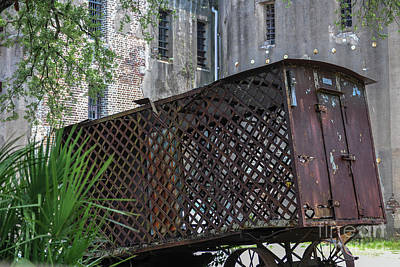 Paddy Wagon Photograph - Jail House Wagon  by Dale Powell