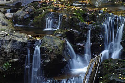 Photograph - Wagon Road Falls Detail 1 by Ken Dietz