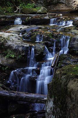 Photograph - Wagon Road Falls Detail 3 by Ken Dietz