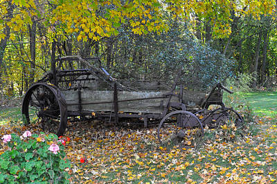 Photograph - Wagon by Tim Nyberg