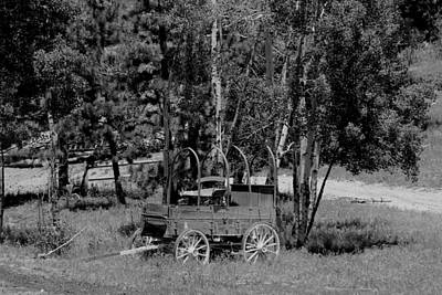 Photograph - Wagon Trail by Trent Mallett