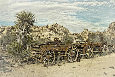 Photograph - Wagon Train  by Sandra Selle Rodriguez