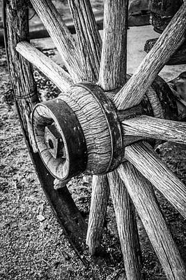 Photograph - Wagon Wheel by Steph Gabler