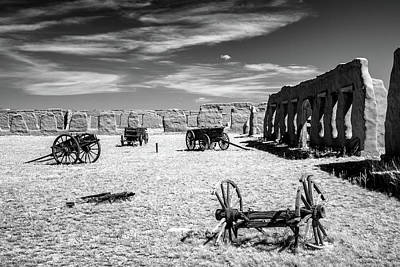 Photograph - Wagon Yard by James Barber