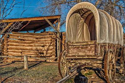 Photograph - Wagons Ho  by Jaquita Watters