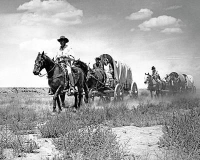 Photograph - Wagons Westward 1 by Bob Bradshaw