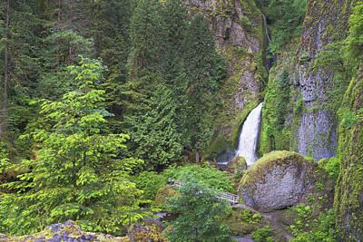Photograph - Wahclella Falls by Chris Reed