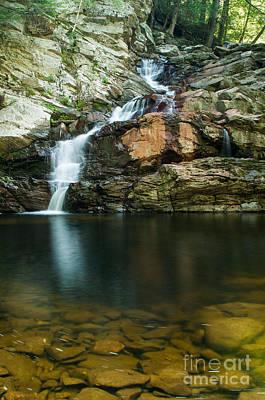 Wahconahs Pool - New England Waterfall Art Print by JG Coleman