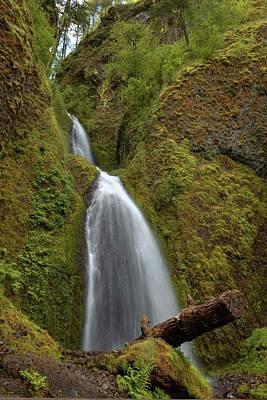 Photograph - Wahkeena Falls - 1  by Hany J