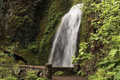 Photograph - Wahkeena Falls - 2  by Hany J