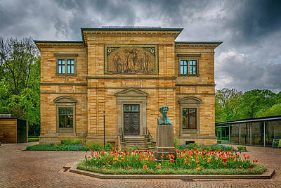 Photograph - Wahnfried Richard Wagner Villa 7r2_dsc7484_05092017 by Greg Kluempers