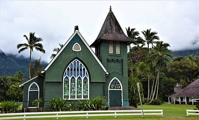 Photograph - Wai' Oli Hui'ia Church by Lisa Dunn