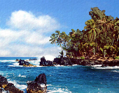Photograph - Waianapanapa Maui Hawaii by Kurt Van Wagner