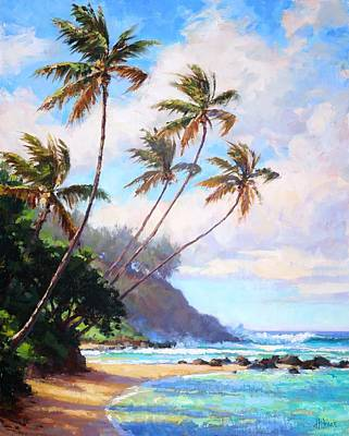Painting - Waicoco Beach 2 by Jenifer Prince