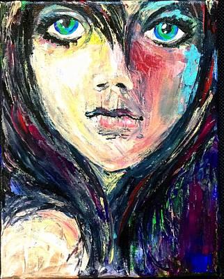 Waif Painting - Waif by Dottie Mabry