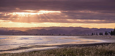 Photograph - Waikanae Beach by Racheal Christian