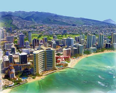 Waikiki Original by Tracy Hayden