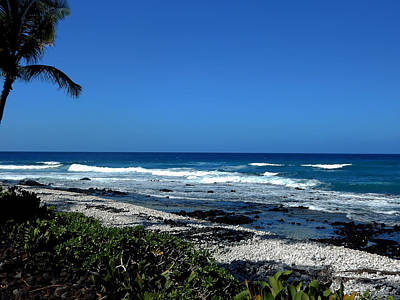 Photograph - Waikoloa Beach by Pamela Walton