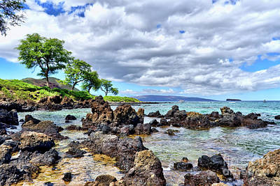 Photograph - Wailea Beach #2 by Eddie Yerkish