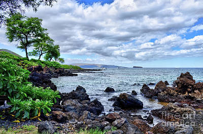Photograph - Wailea Beach by Eddie Yerkish