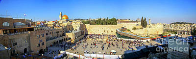 Extremism Photograph - Haram Al Sharif / Temple Mount - Israel / Palestine by Wietse Michiels