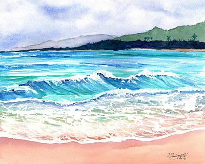Painting - Wailua Beach by Marionette Taboniar