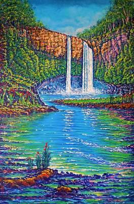 Wailua Falls - Kauai Art Print