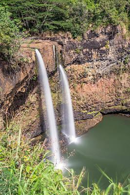 Photograph - Wailua Falls by Pierre Leclerc Photography