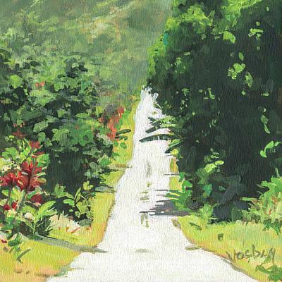Haleiwa Painting - Wailua by Stacy Vosberg