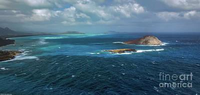 Photograph - Waimanalo Bay by Mitch Shindelbower