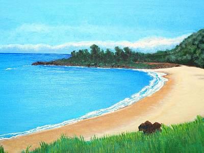 Waimea Bay Art Print