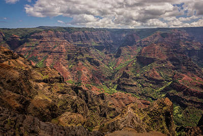 Photograph - Waimea Canyon 7 - Kauai Hawaii by Brian Harig