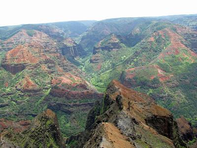 Photograph - Waimea Canyon 88 - Kauai, Hawaii by Pamela Critchlow