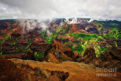 Photograph - Waimea Canyon by Bruce Block