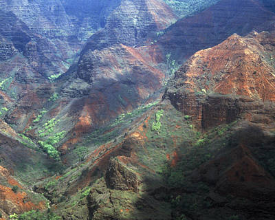 Photograph - Waimea Canyon by Kenneth Campbell
