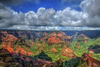 Photograph - Waimea Canyon Too The Grand Canyon Of The Pacific Kauai Hawaii Art by Reid Callaway