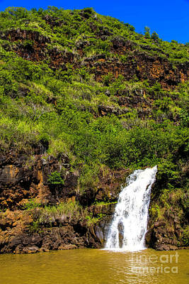 Photograph - Waimea Falls  by Jon Burch Photography