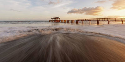 Photograph - Waimea Pier by Dustin LeFevre