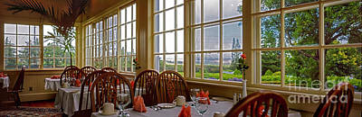 Photograph - interior Waimea restaurant big island Hawaii  by Tom Jelen