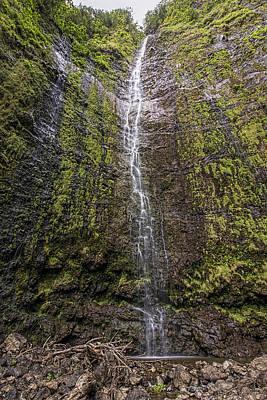 Photograph - Waimoku Falls by Josh Bryant