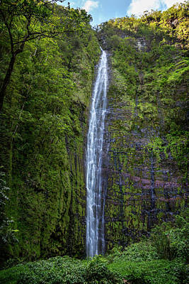Photograph - Waimoku Falls by Kelley King