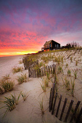 Photograph - Wainscott Sunset by Robert Seifert